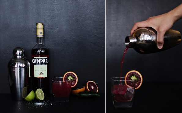Blood and Tears Cocktail