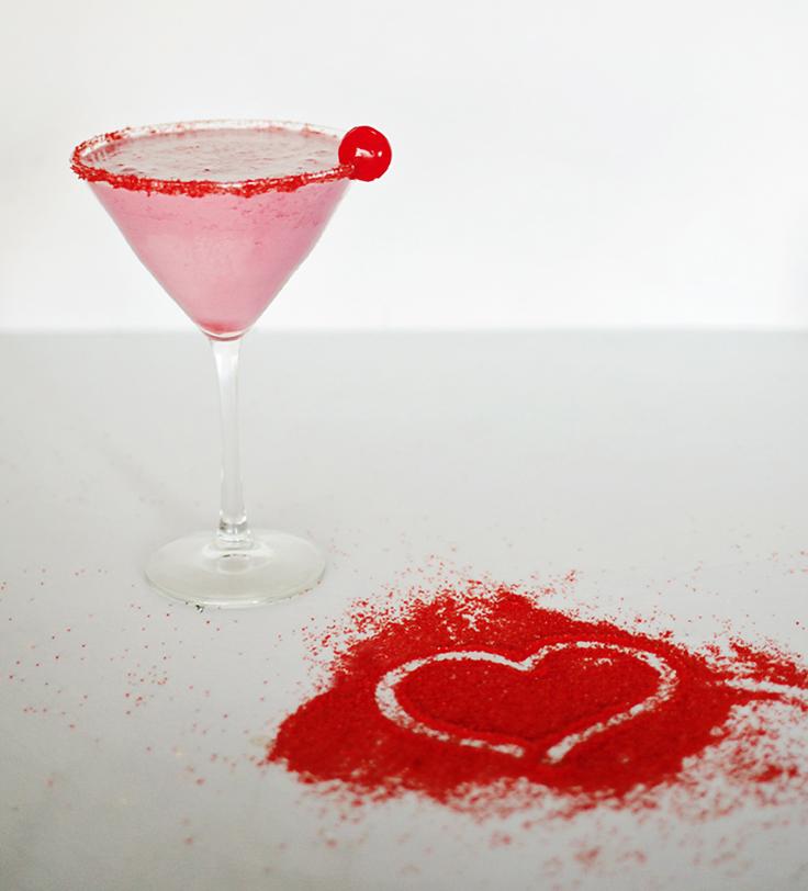 Poppin' Cherry Martini