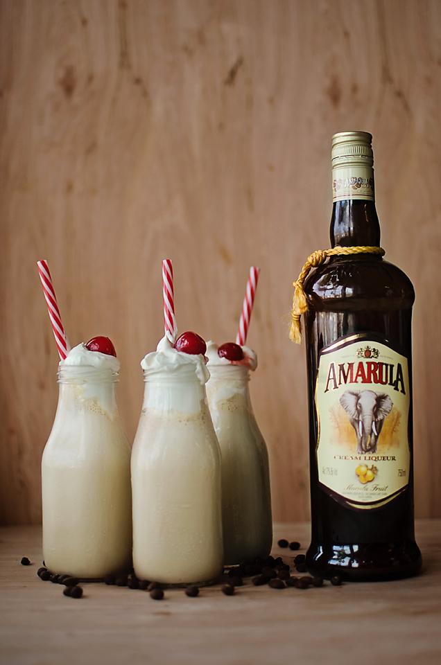 Amarula Coffee Milkshake: Amarula, espresso vodka, and coffee ice cream